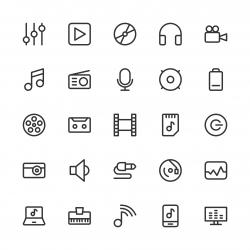 Audio and Multimedia - Line Series
