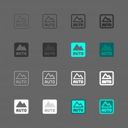 Camera Auto Mode Icon - Multi Series