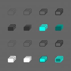 Burst Shot Icon - Multi Series