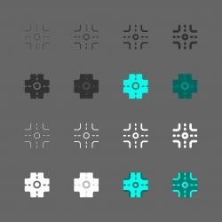 Crossroad Icon - Multi Series
