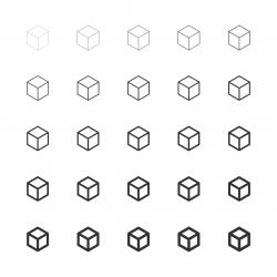 Cubic Icon - Multi Line Series