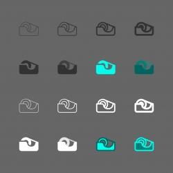 Adhesive Tape Icon - Multi Series