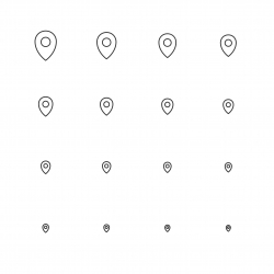 Location Icon - Multi Scale Line Series