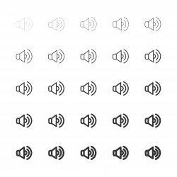 Speaker Icon - Multi Line Series