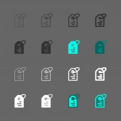 Price Tag Icon - Multi Series