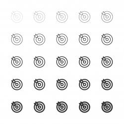 Target Icons - Multi Line Series