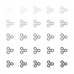 Sharing Icons - Multi Line Series