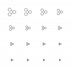 Sharing Icons - Multi Scale Line Series