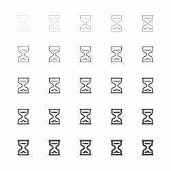 Hourglass - Multi Line Series