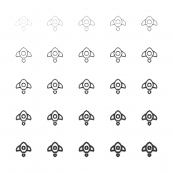 Rocket Icons - Multi Line Series