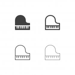 Piano Icons - Multi Series