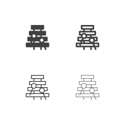 Xylophone Icons - Multi Series