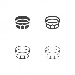 Sport Stadium Icons - Multi Series
