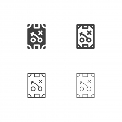 Sport Tactical Plan Icons - Multi Series