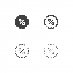 Discount Label Icons - Multi Series