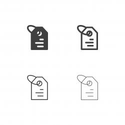 Price Tag Icons - Multi Series