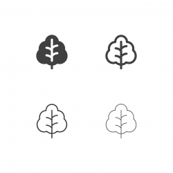 Collard Greens Icons - Multi Series