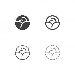 Cauliflower Icons - Multi Series