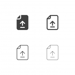 Uploading File Icons - Multi Series