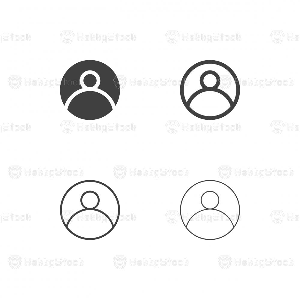 User Profile Icons - Multi Series