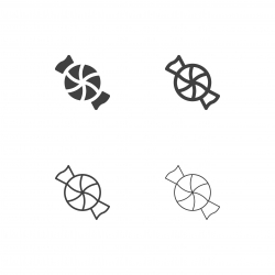 Taffy Candy Icons - Multi Series