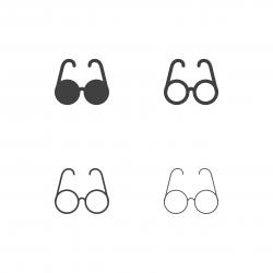 Eyeglasses Icons - Multi Series