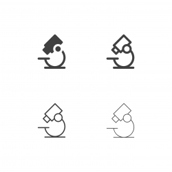 Microscope Icons - Multi Series