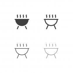 Picnic Barbecue Icons - Multi Series