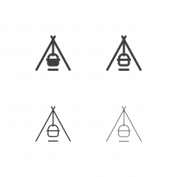 Camping Cooking Icons - Multi Series