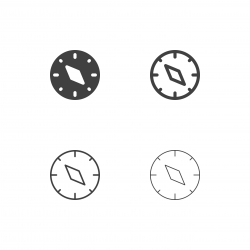 Compass Icons - Multi Series