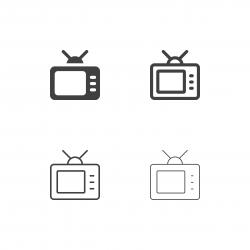 Retro Television Icons - Multi Series