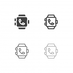 Smart Watch Icons - Multi Series