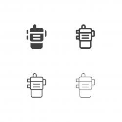 Walkie Talkie Icons - Multi Series
