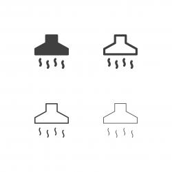 Cooker Hood Icons - Multi Series