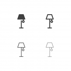 Floor Lamp Icons - Multi Series