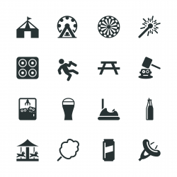 Festival Silhouette Icons