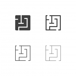Maze Icons - Multi Series