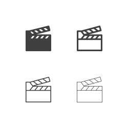 Film Slate Icons - Multi Series