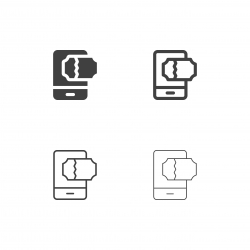 Online Ticket Icons - Multi Series