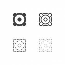 Speaker Icons - Multi Series