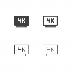4K Television Icons - Multi Series