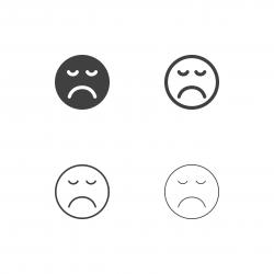 Bored Emoji Icons - Multi Series