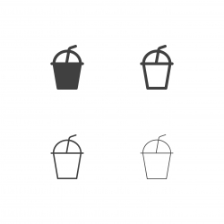 Iced Coffee Icons - Multi Series