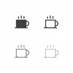 Black Coffee Icons - Multi Series