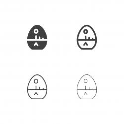 Egg Timer Icons - Multi Series