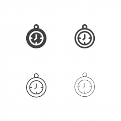 Pocket Watch Icons - Multi Series