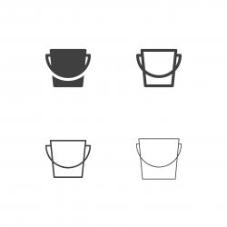 Bucket Icons - Multi Series