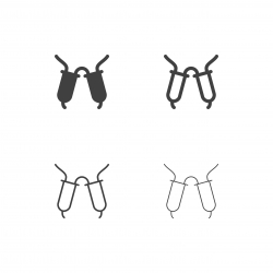 Milking Machine Icons - Multi Series