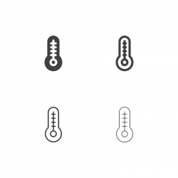 Thermometer Icons - Multi Series