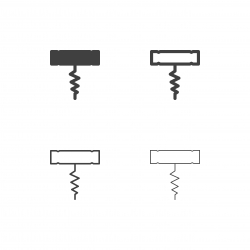 Corkscrew Icons - Multi Series